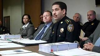 Introduction: Harris County TX Sheriff Adrian Garcia presents FY 2013 budget proposal