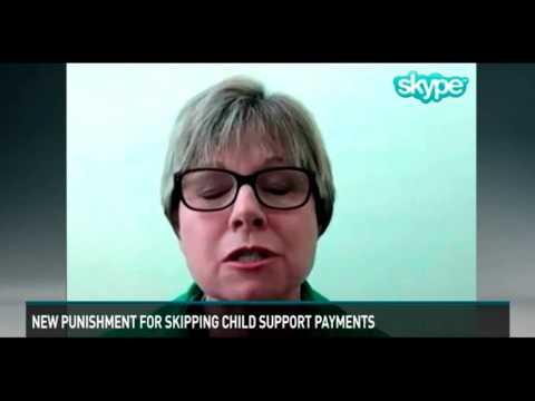 New punishment for skipping child support payments
