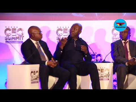 Highlights of 3rd Ghana CEO summit closing section