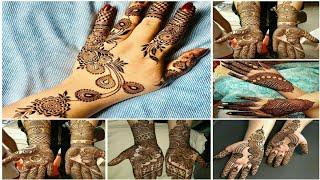 Simple Mehndi designs || Mehndi Designs On Hands|| Indian Wedding New Mehndi Design|| mehndi designs