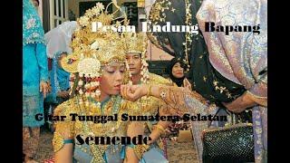 Download Lagu Pesan Endung Bapang - NN, Gitar Tunggal Sumatera Selatan #Semende mp3
