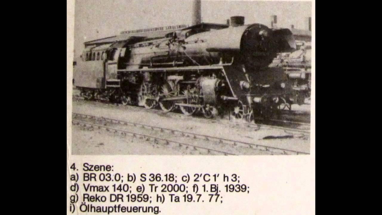 Von 01 bis 99 Dampflokomotiven der
