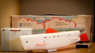 Іграшка підводний човен з СРСР