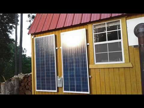 Shed to house solar