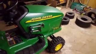 My john deere lt133 and upgrades