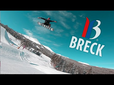 SNOWBOARDING AT BRECKENRIDGE!
