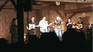 "Tony Rice and Mountain Heart ""Little Cabin Home on the Hill"""