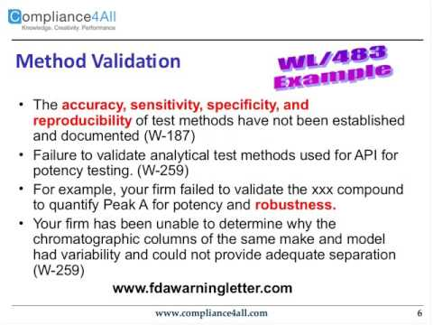 Analytical Methods - Role of Quality by Design