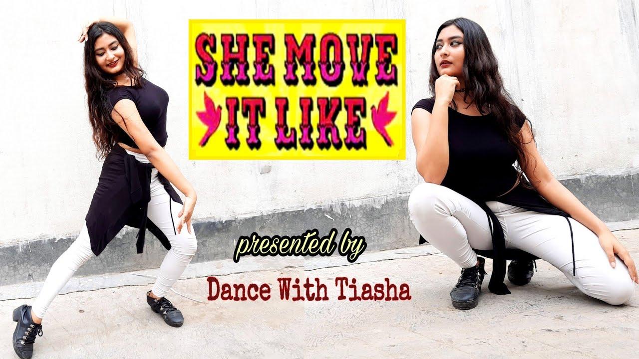She Move It Like - Dance cover | Badshah | Warina Hussain | Dance With Tiasha