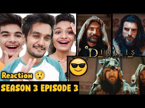 Download Ertugrul Ghazi Urdu Season 3 Episode 3 Reaction   Ertugrul Reaction   Diriliş Ertuğrul Season 3