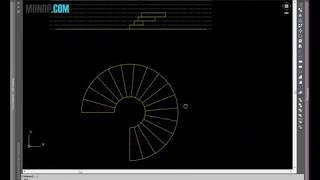 Cách Vẽ Cầu Thang Xoắn Ốc - Autocad PhuongTk | NESA iCAD