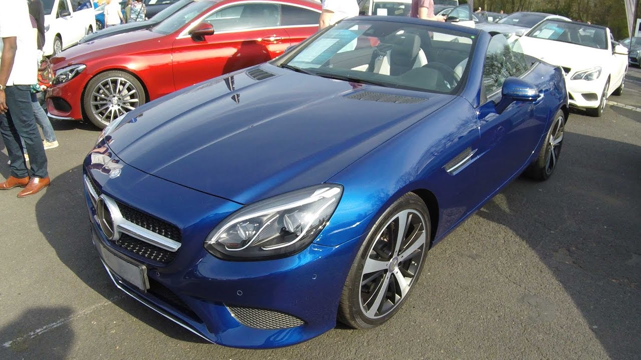 MERCEDES BENZ SLC ROADSTER !! BRILLANT BLUE !! R172 (SLK