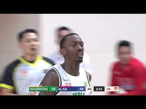 Wolf Warriors vs San Miguel Alab | CONDENSED HIGHLIGHTS | 2018-2019 ASEAN Basketball League