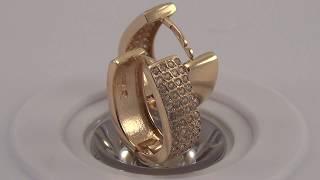 Золотые серьги С356(, 2017-06-28T09:40:42.000Z)