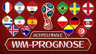 🏆 FIFA WM 2018 Prognose 🏆 - Achtelfinale
