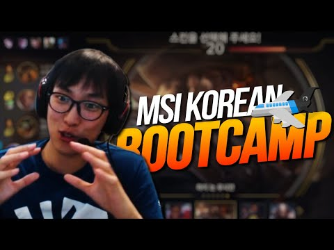 Doublelift - MSI KOREAN BOOTCAMP (EP. 1)
