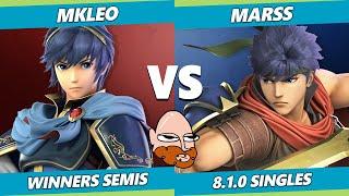 8.0 Gimvitational Winners Semis - T1 | MkLeo (Marth) Vs. PG | Marss (Ike) SSBU Ultimate Tournament