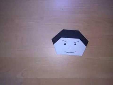 ハート 折り紙 折り紙 顔 折り方 : youtube.com