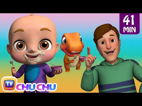 Johny Johny Yes Papa Family Song plus Many More Nursery Rhymes & Songs for Babies by ChuChu TV - วันที่ 04 Jun 2018