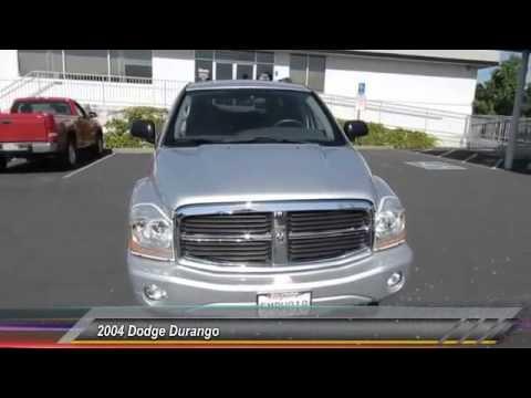2004 Dodge Durango Live Healdsburg Ca U1864a Youtube
