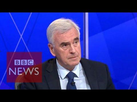 John McDonnell apologises for IRA remark - BBC News