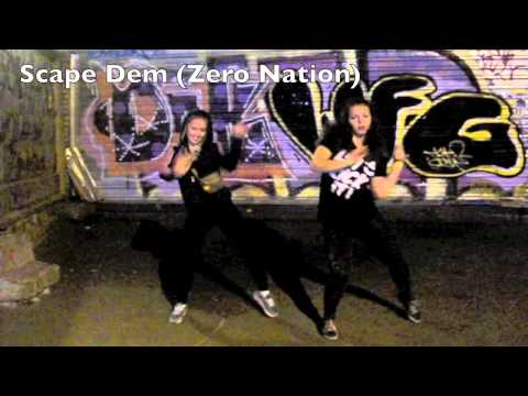 Dancehall routine by Liza Zero on Mavado ft. Alison Hinds - Carribbean Girls (Soca Remix)
