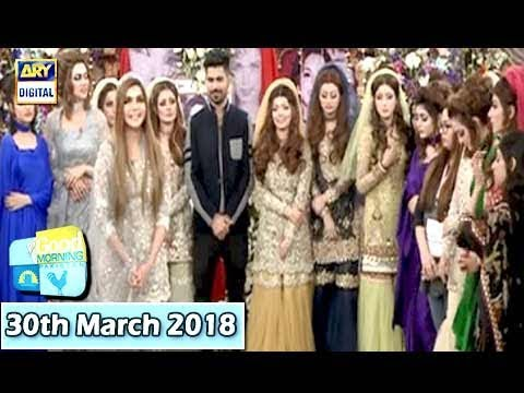 Good Morning Pakistan - 30th March 2018 - ARY Digital