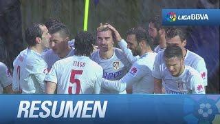 Resumen de SD Eibar (1-3) Atlético de Madrid