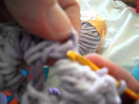 quadrado de crochet para fazer  tapete de barbante ,passo a passo...... Vídeos De Viagens