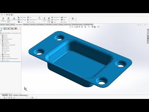 Solidworks - Sheet Metal Forming Tools (Form Verme Araçları)
