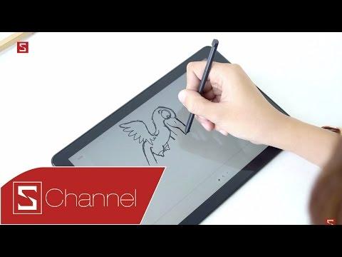 Schannel - Trên tay Galaxy Tab A 2016 với bút S-Pen: Tăng thêm sức mạnh với bút S-Pen ma thuật