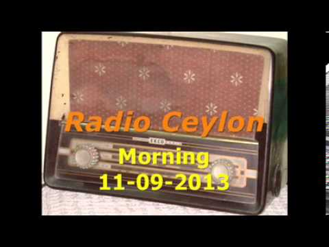 01~Radio Ceylon 11-09-2013~Morning Broadcast