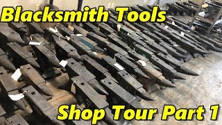 Blacksmith Tools Shop Tour Part 1