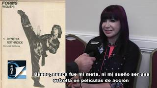 Cynthia Rothrock Interview in Argentina 2019