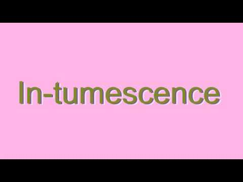 How to Pronounce In-tumescence