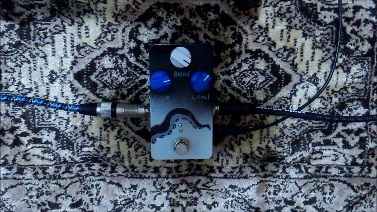 Hortalive octave fuzz blend faraday pedals youtube for Yamaha thr10 pedals