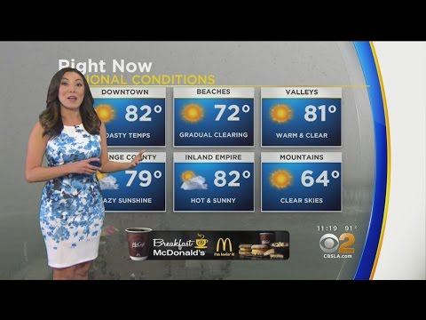 Amber Lee's Weather Forecast (May 2)