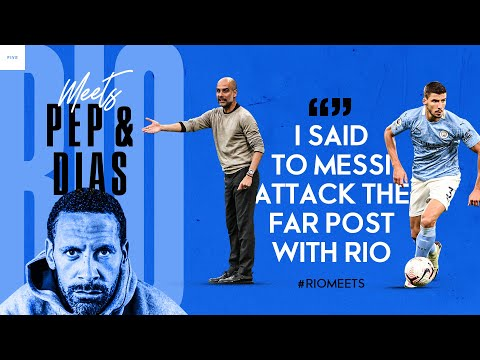 Rio Meets Pep Guardiola and Rúben Dias On Their Recent Success And City's Champions League mission. - Rio Ferdinand Presents FIVE