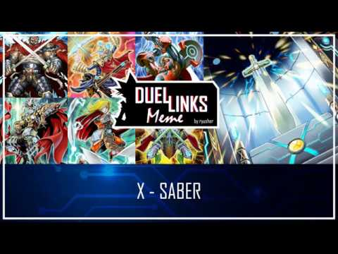 X Saber Revisit Dl First Synchro Archetype Yu Gi Oh Duel Links