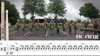 "2015 Cadets Snares - LEARN THE MUSIC to ""Waltz"""