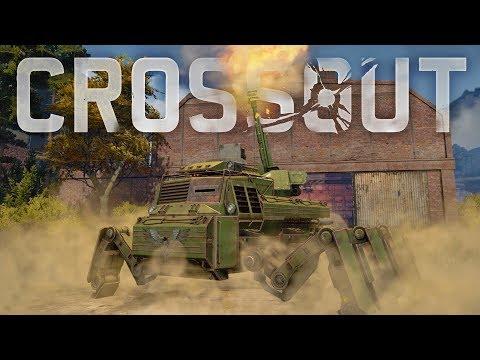 Crossout - Artillery Is Here! - Artillery Mech Tank & New Faction Vehicles - Crossout Open Beta
