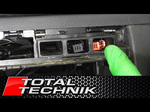 How To Remove Dash Button Frame - Audi A6 S6 RS6 - C5 - 1997-2005 - TOTAL TECHNIK