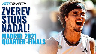 Alex Zverev STUNS Rafa Nadal in Madrid!