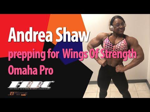 Female bodybuilder – IFBB Pro Andrea Shaw
