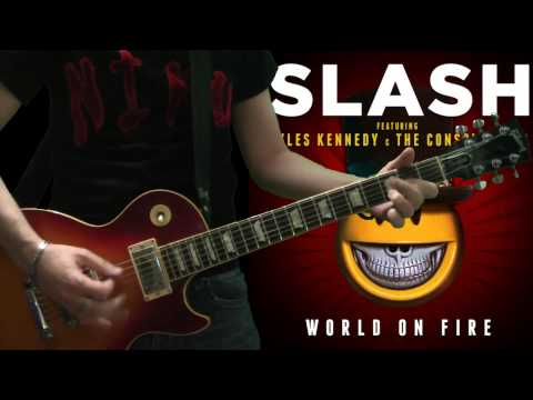 Slash & Myles Kennedy – Avalon (full guitar cover)