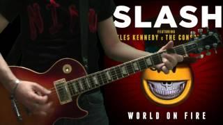 Slash & Myles Kennedy - Avalon (full guitar cover)