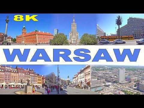 WARSAW - POLAND  2018 8K