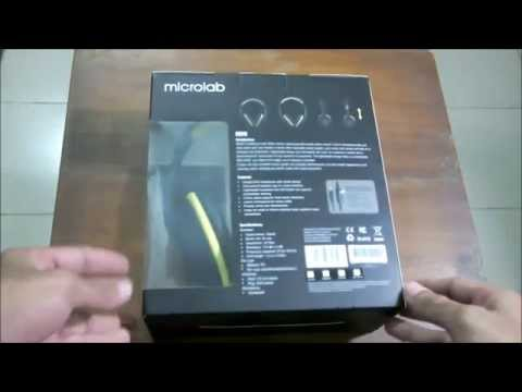 Microlab K320 unboxing and hands on review