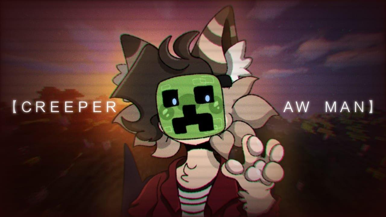 【CREEPER AW MAN】ANIMATION MEME (Flipaclip) - YouTube