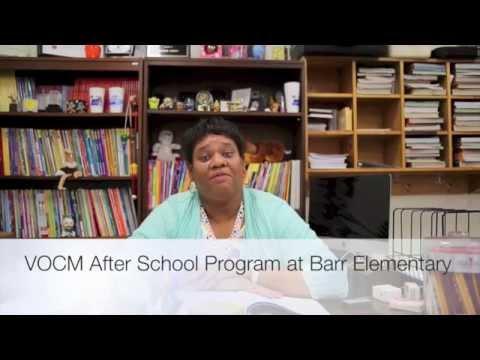 VOCM's After School Program at Barr Elementary School